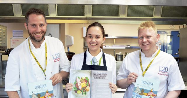 College restaurant's exclusive dish appears in new cookbook