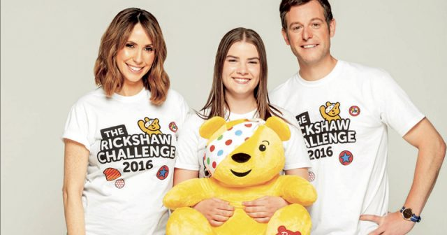 Student takes on BBC The One Show's Rickshaw Challenge