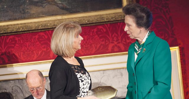 Special needs college first in the UK to receive Princess Royal Training Award