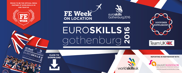 EuroSkills 2016 - Celebrating Team UK's success | souvenir supplement