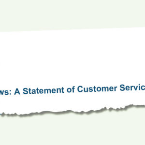 Late publication of 'customer service' guide for area reviews described as 'beyond parody'