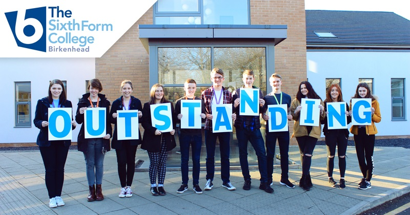 Ofsted rates Birkenhead Sixth Form College as outstanding in all areas