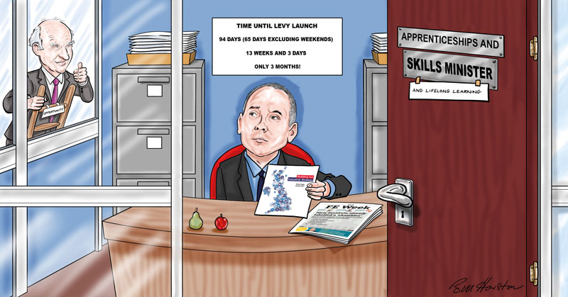 Halfon puts lifelong learning back in the spotlight