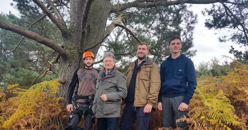 FEATURE: Lecturers tie Titchmarsh to a tree for Channel 4 programme