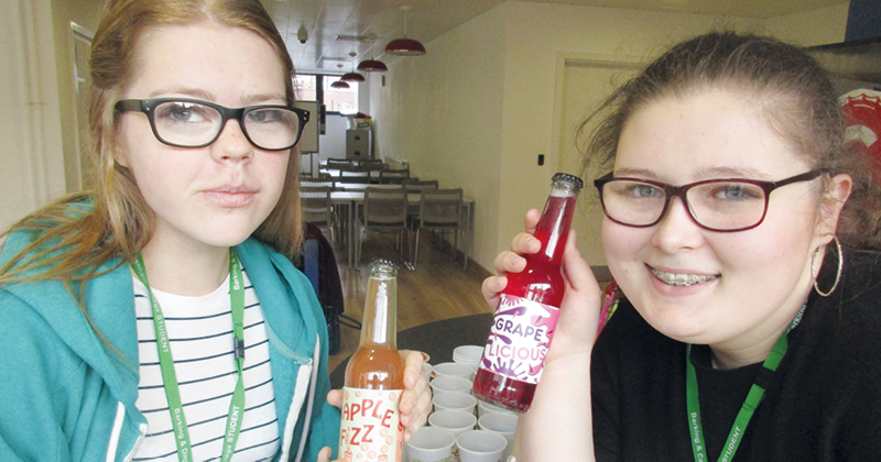 Fizzy drink created by students set to hit local shelves