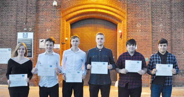Public services students become first in the country to undertake prison work experience