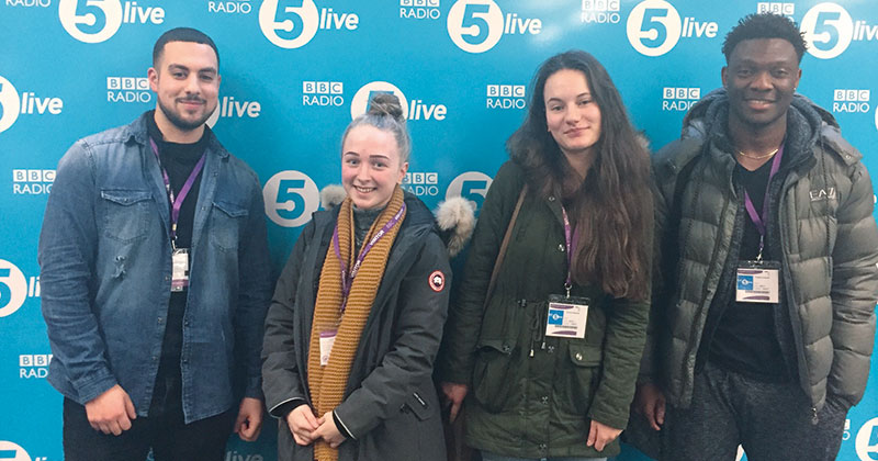 Students take to the airwaves to debate the future of nursing