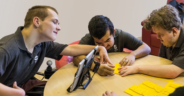 FEATURE: Students print 3D map to help blind friend navigate college