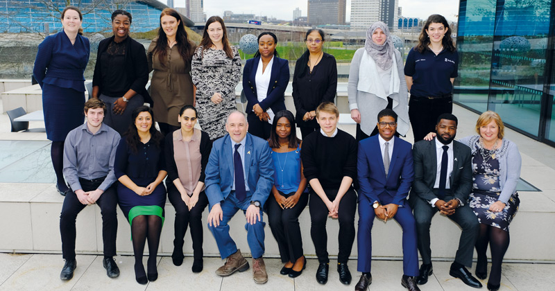 Ethnic minority target for apprenticeship diversity group