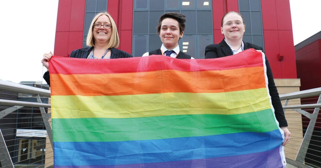 FEATURE: West Nottinghamshire college flies the flag for diversity