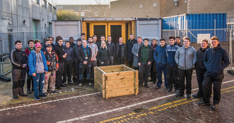 Farm in a box initiative will help people in deprived areas grow their own food
