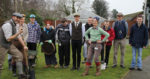 Derwen college plants tree avenue for 90th anniversary