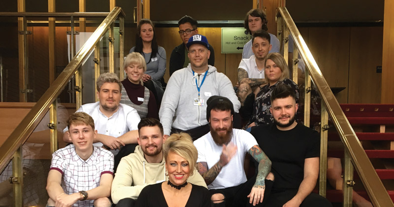 Hairdressing team scoop eight medals at regional awards