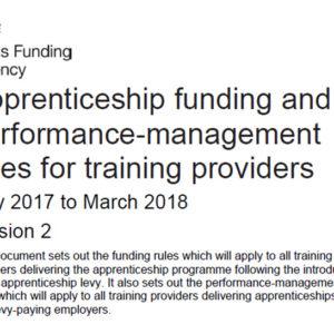 SFA apprenticeship funding rules strengthened to deter employer kick-backs