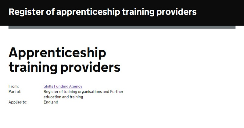 Exclusive: Providers finally successful in apprentice register applications