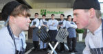 Budding chefs take over hotel kitchen for culinary battle