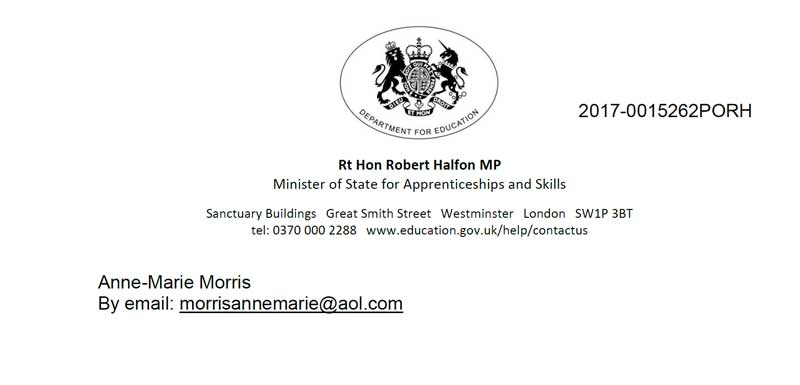 Minister wrongly claims there are no grade four providers on new apprenticeships register