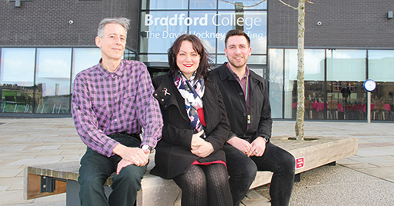 LGBT campaigner Peter Tatchell tells students about his 50 years of activism