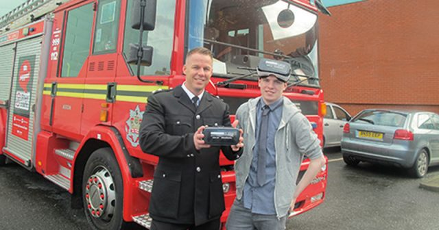 Performing arts student gets real life filming experience in VR road safety video