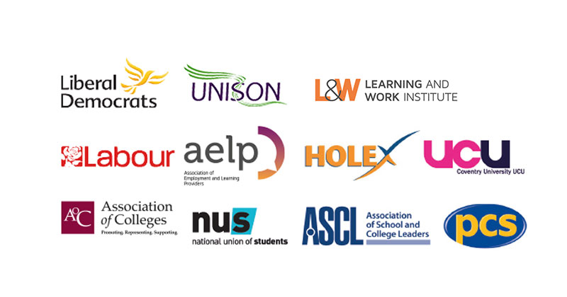 Whole FE sector backs #SaveOurAdultEducation campaign