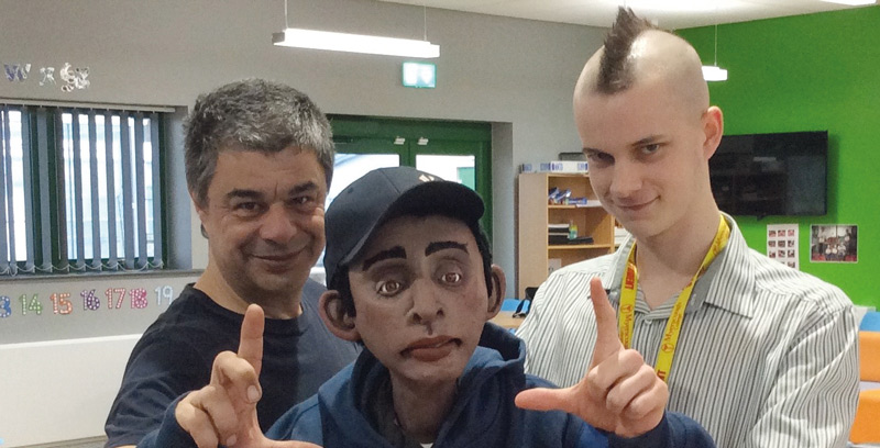 College's foundation learners star in national safegaurding resource... as puppets