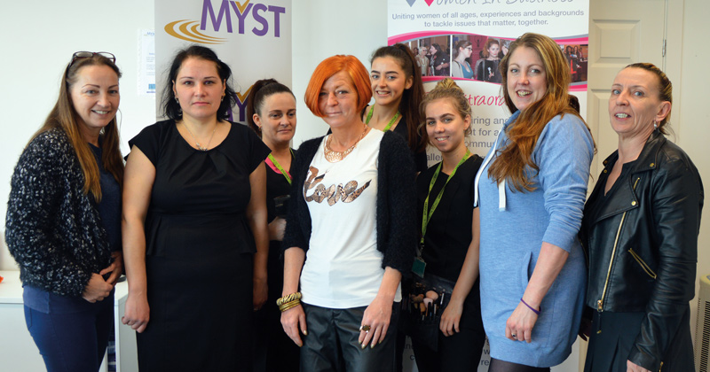 Scheme to help unemployed women find work gets a hand from college students