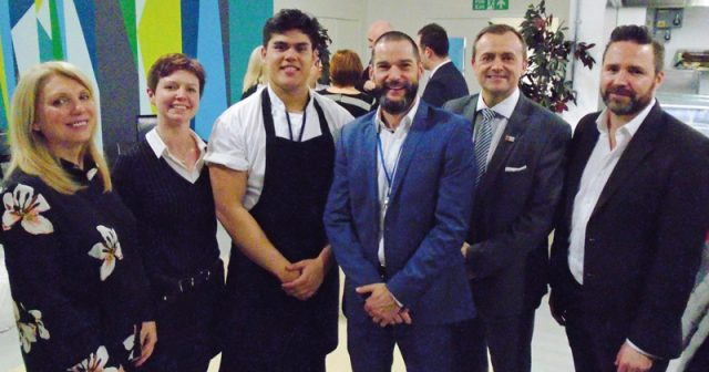 First Dates presenter prepares young offenders for work in the hospitality industry