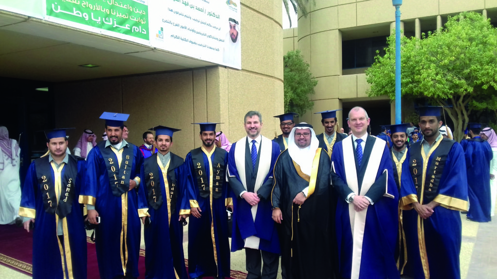 Expansion plans with Saudi Colleges of Excellence revealed