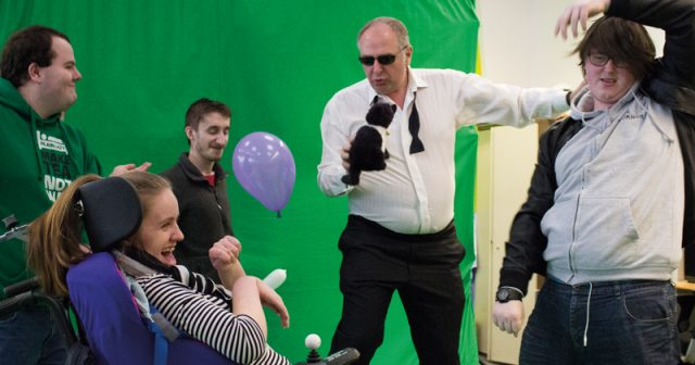 College principal takes on ten challenges to celebrate a decade at the helm