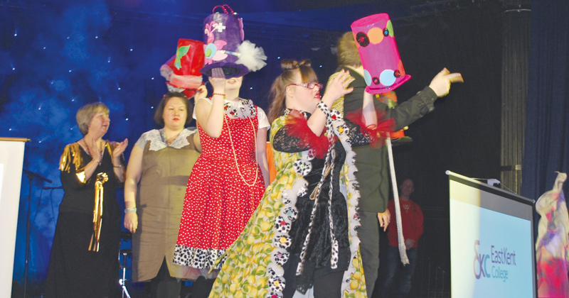 Supported learners walk the catwalk to celebrate diversity in fashion
