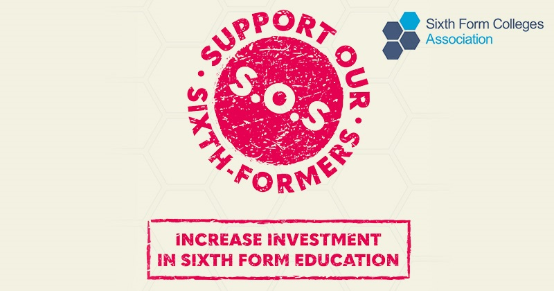 Support Our Sixth-formers campaign launched