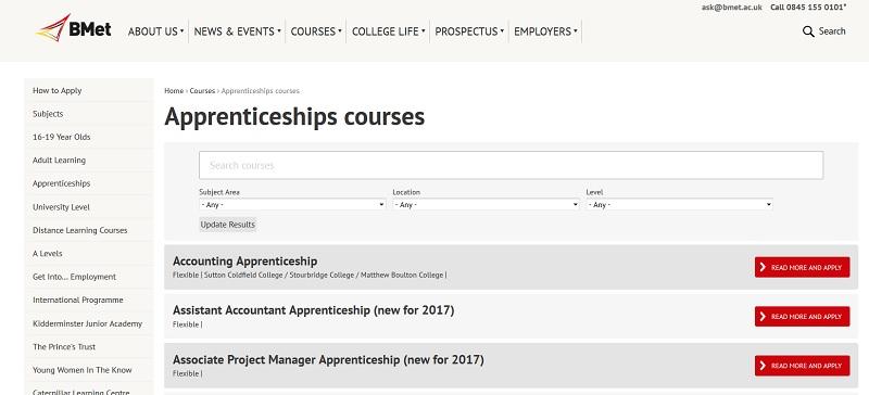 Colleges not on apprenticeships' register still advertising vacancies