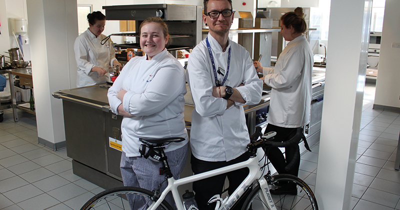 Catering lecturer hosts Tour-de-France themed dinner to fight cancer