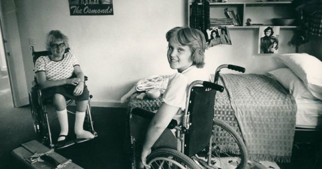 Old archives reveal life at a specialist college 50 years ago