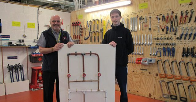 Budding plumber wins regional title with his watertight circuit