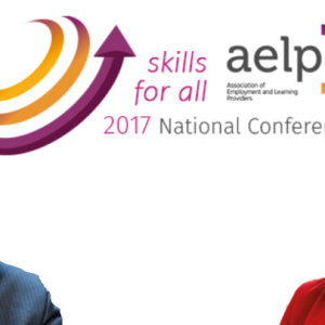 New skills minister Anne Milton speaking at AELP conference 2017