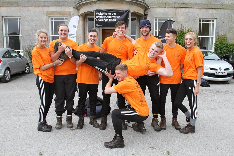 Brathay Challenge: National apprentice team of the year revealed