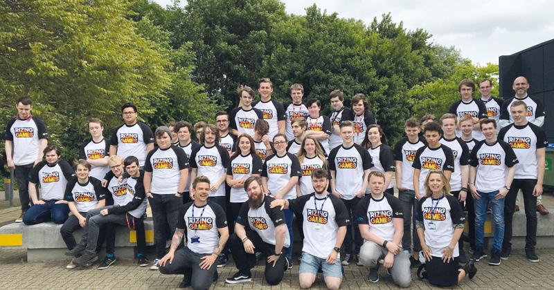 Aspiring developers showcase their games at international video game show