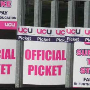 'Maximum disruption' criticism of strike picket line planned for enrolment day