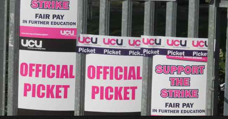 Strike dates announced for colleges locked in pay dispute