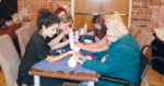 Dementia sufferers and their carers get pampered