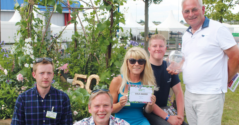 College team win gold award at BBC Gardeners' World Live