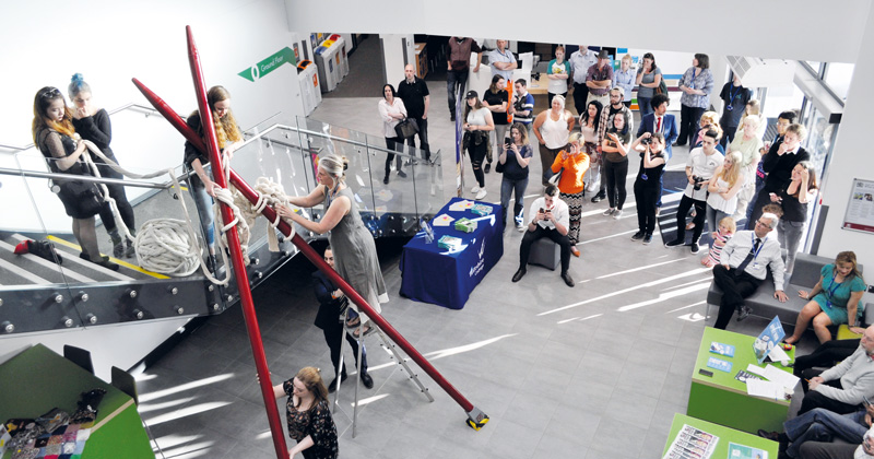 Wiltshire College Student Attempts World Record