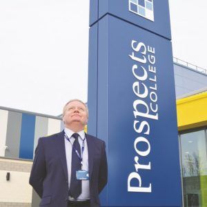 Principal standing down of recently created FE college