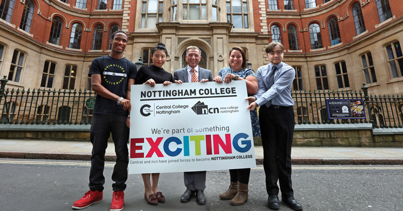 Nottingham College mega-merger goes through 10 months late