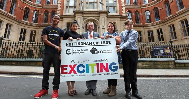 Nottingham College mega-merger goes through 10 months late