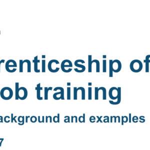 DfE publish long awaited off-the-job training guidance
