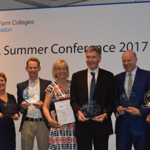 Sixth Form Colleges Association award winners unveiled