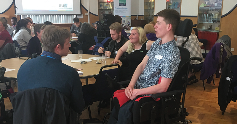 Parliament for disabled students meets for the first time