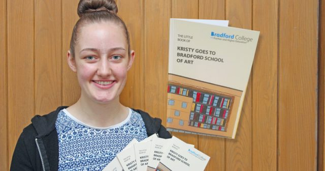 College uses student's art project as a learner recruitment tool